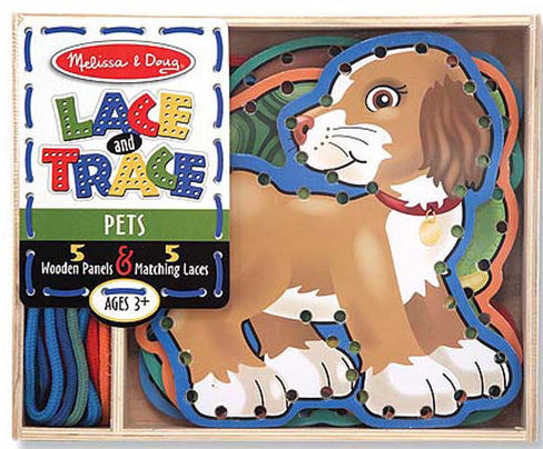Lace & Trace Pets by Melissa & Doug