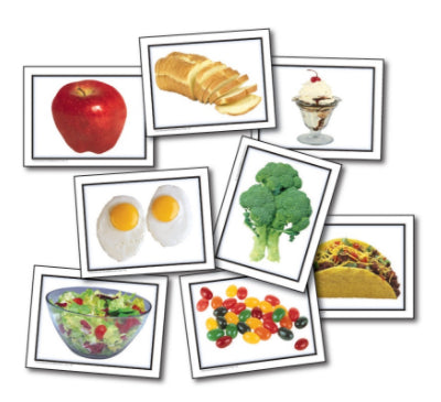 Photographic Learning Cards, Food