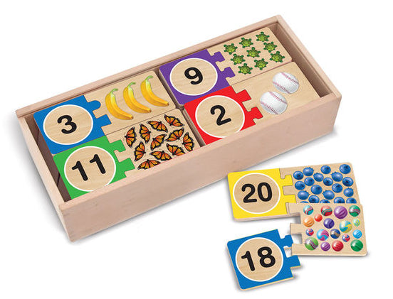 Number Puzzles by Melissa & Doug