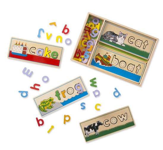 See & Spell Learning Puzzle by Melissa & Doug