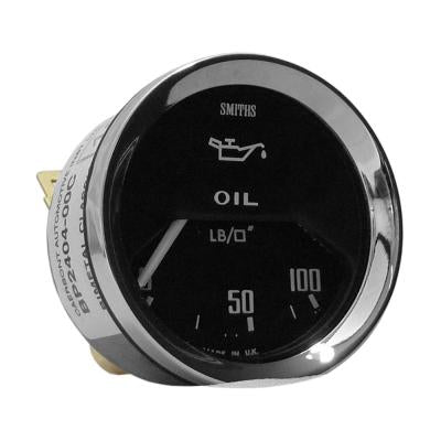 Oil Pressure gauge - Electric - Smiths - 52mm