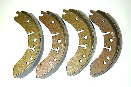 "9"" Brake Shoes To Suit Morris Major"