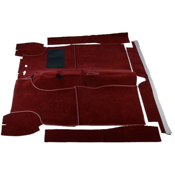 Carpet Set To Suit Morris Minor 1000 Sedan, Traveller & Convertible - Red