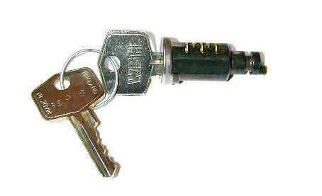 Barrel & Keys - R/H Door Lock