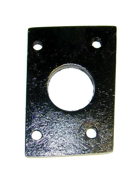 Front Door Pillar Upper Insert Plate - For Hinge Bolts