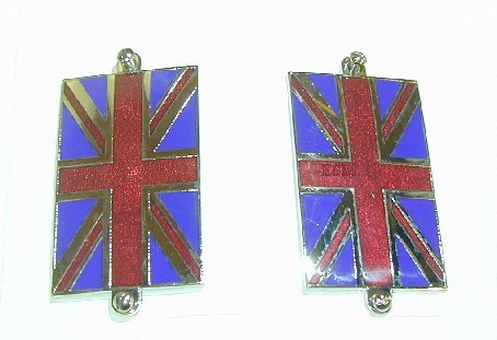 Union Jack Enamelled Badges