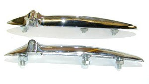 BOOT HINGE SET, Suits Morris Minor. Also Suits Daimler Conquest Roadster Bonnet & Boot Hinges & Austin Healy 3000 Bonnet Hinge Only