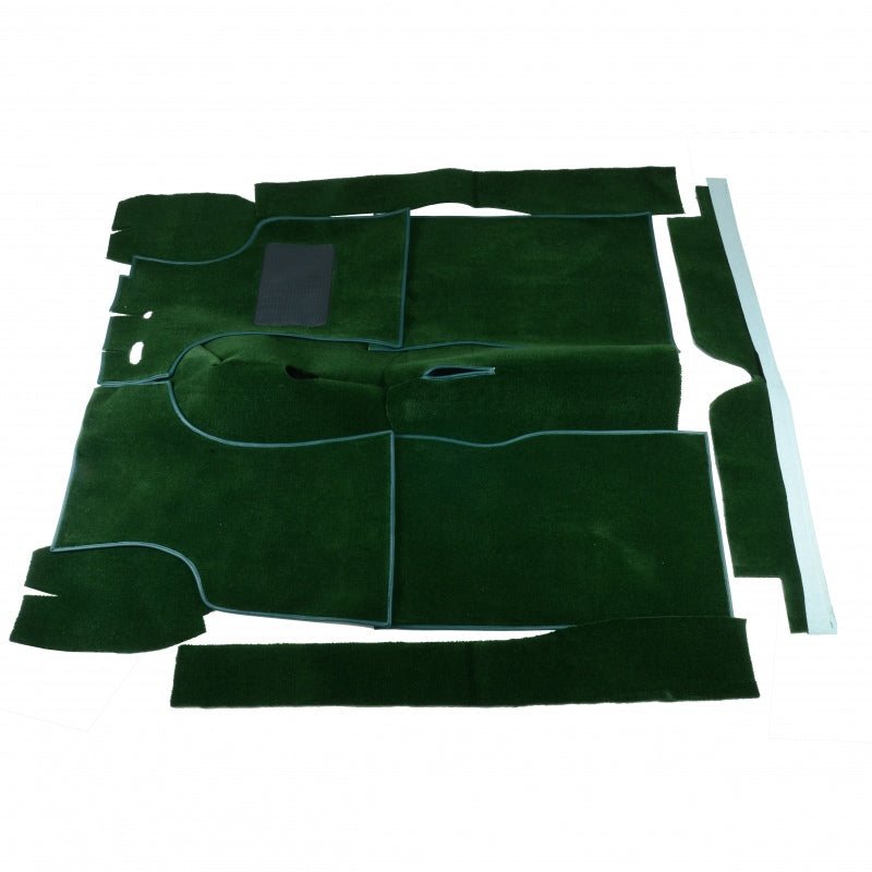 Carpet Set To Suit Morris Minor 1000 Sedan, Traveller & Convertible. Green