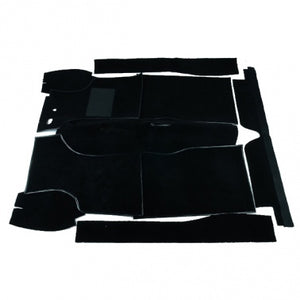 Carpet Set To Suit Morris Minor Van & Ute - Black