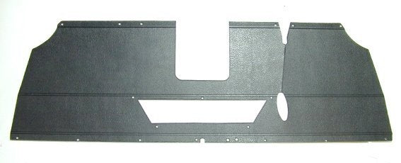 Parcel Tray - RHD - Black - Suits Cars From 1959 To 1964 With Cutout For Rear Heater Duct