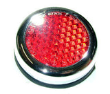 "Rear Red Reflector-2"" Round"