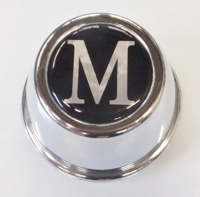 Badge Set To Suit Minator Wheels Centre Cap or Any Wheel Cap Suits a 40mm Badge. Brushed Alloy With Gloss Black Resin