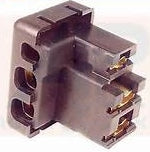 Alternator Plug To Suit Lucas Alternator - 3 Pin - Suits Morris Austin, British Cars
