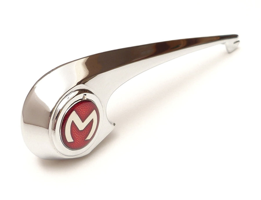 Bonnet Handle - Flash now with RED ENAMEL M BADGE