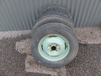 Wheel & Tyre Combo - Set Of Four - 14 x 4