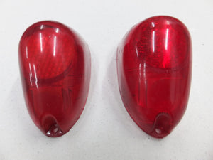 Tail Lamp Lenses - Suits Morris Minor - Pair - New Old Stock