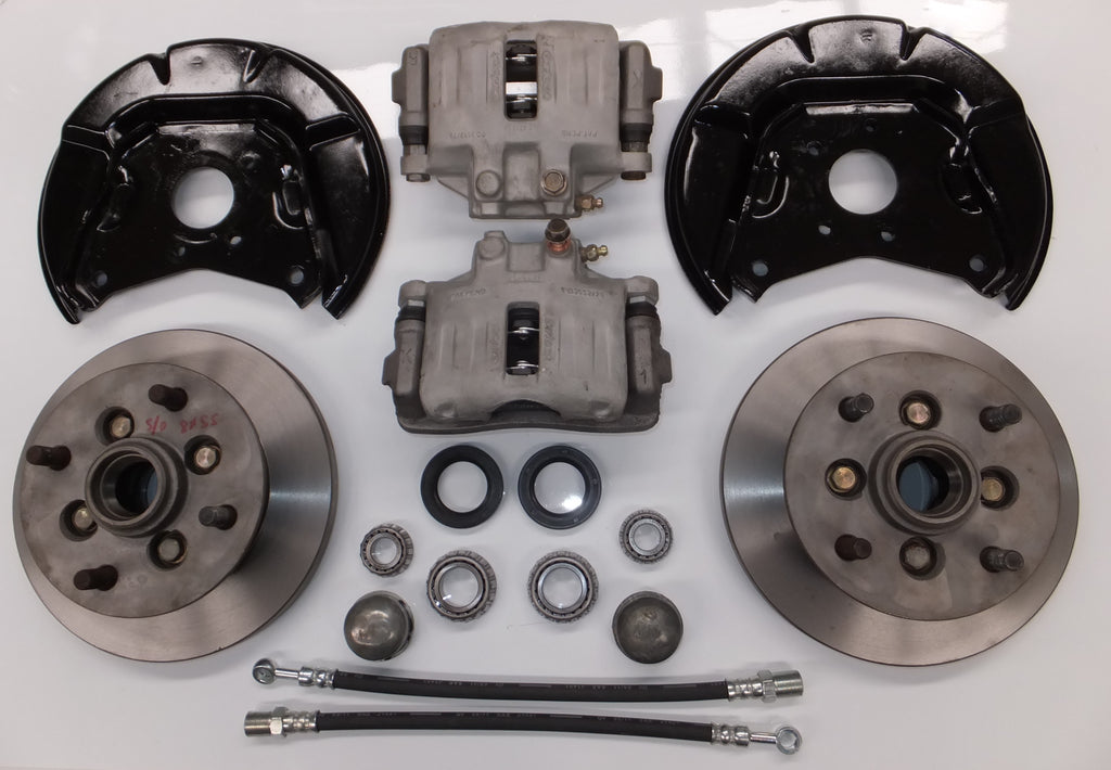 Disc Brake Kit - Suits All Morris Minor Models - Suits Datsun, Toyota & MM Wheels*. Please See Notes