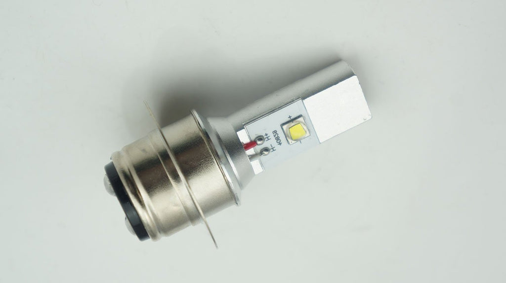 LED Headlight / Headlamp Globe - 12 Volt - BPF Type -  Many Times Brighter & Whiter Than The Original