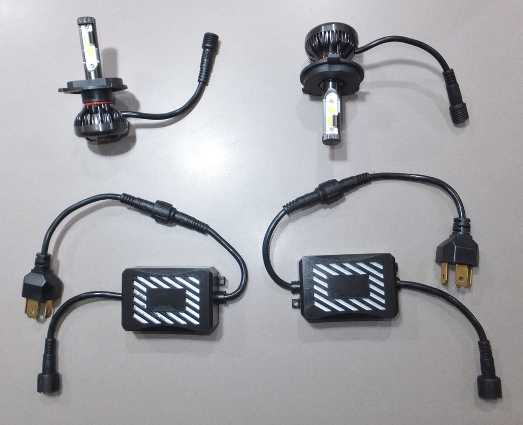 LED Headlamp Upgrade Kit - 12 Volt - Very Low Current Draw, Amazing Light Output. Please See Notes