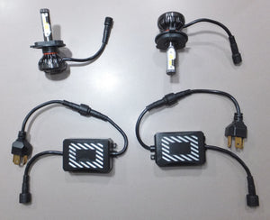 LED Headlamp Upgrade Kit - Very Low Current Draw, Amazing Light Output. Please See Notes