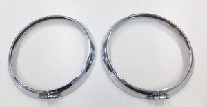 Outer Headlamp Bezel Kit - Original Type With Screw Clamp - Used - EXC Cond