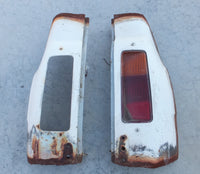 Escort Panel Van Tail Lamp Panels - Ideal For Retrofit To Morris Minor Van - Used