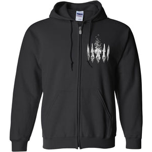 """Speaker"" Zip-Up Hoodie"