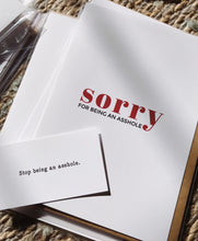 Stop Being An Asshole Honest Offensive Mini Greeting Cards