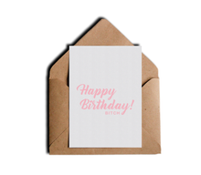 Happy Birthday Bitch Funny and Sarcastic Friendship B-Day Greeting Card by Sincerely, Not