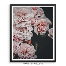 Peony Flowers Art Print Trendy Botanical Wall Poster