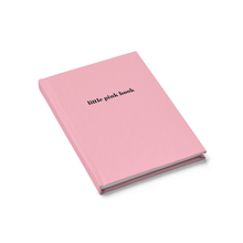 Little Pink Book Hardcover Notebook Diary by Sincerely, Not