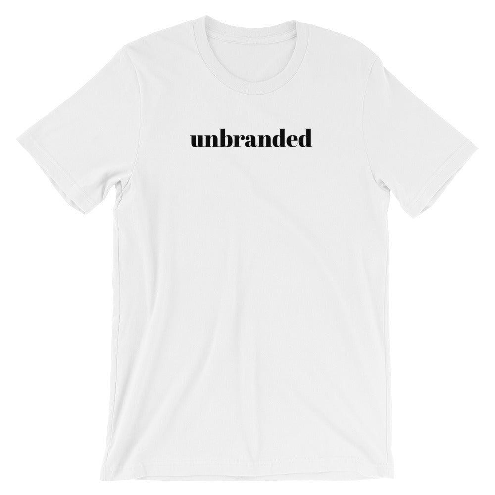 Short Sleeve Unisex T-Shirt - Unbranded Slogan Cotton Tee by Sincerely, Not