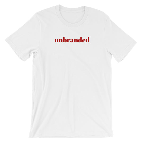 Short Sleeve Unisex T-Shirt Unbranded Slogan Cotton Tee by Sincerely, Not