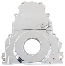 Load image into Gallery viewer, 2-Piece Billet Aluminium Timing Cover FAF Automotive Chrome