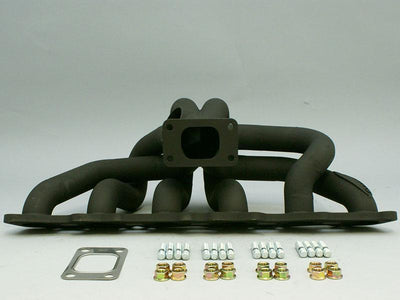 6Boost High Mount Manifold to suit Toyota 1JZ FAF Automotive T3 Single Entry Turbine Inlet Flange VVT-i