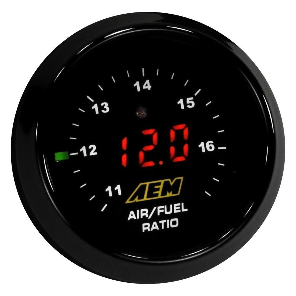 AEM DIGITAL WIDEBAND UEGO GAUGE WITHOUT SENSOR FAF Automotive