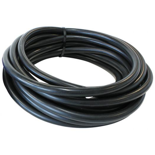 "Aeroflow Performance 1/4"" (6mm) I.D Vacuum Silicone Hose Gloss Black Finish. 5ft (5 metre) Roll FAF Automotive"