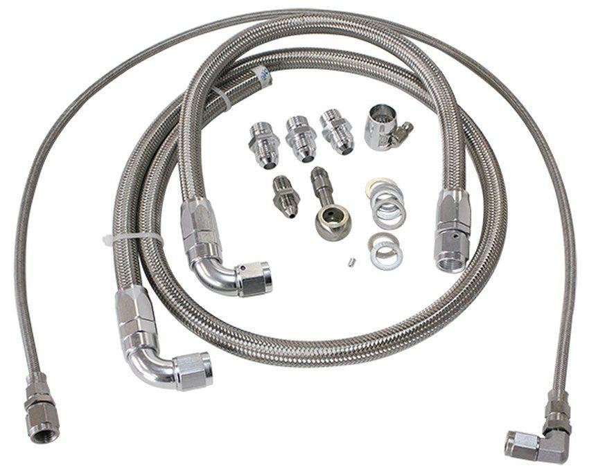 Aeroflow Turbo Oil & Water Feed Line Kit Suit Nissan SR20 S13 FAF Automotive