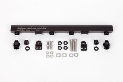 BPP MITSUBISHI 4G63 (EVO 4-6) FUEL RAIL KIT FAF Automotive Black