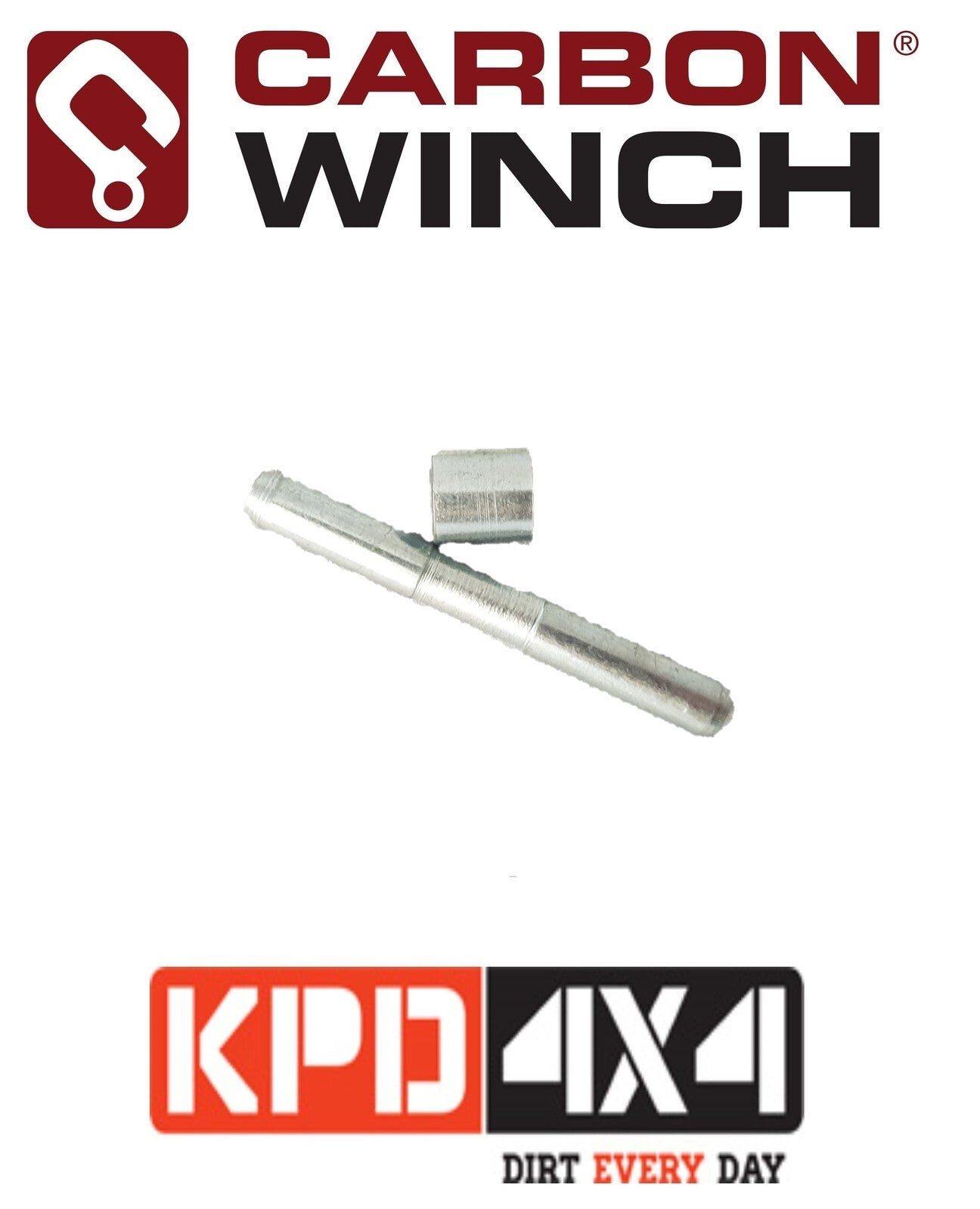 Carbon Winch Hammerlock Pin And Retainer Kit Carbon Winch