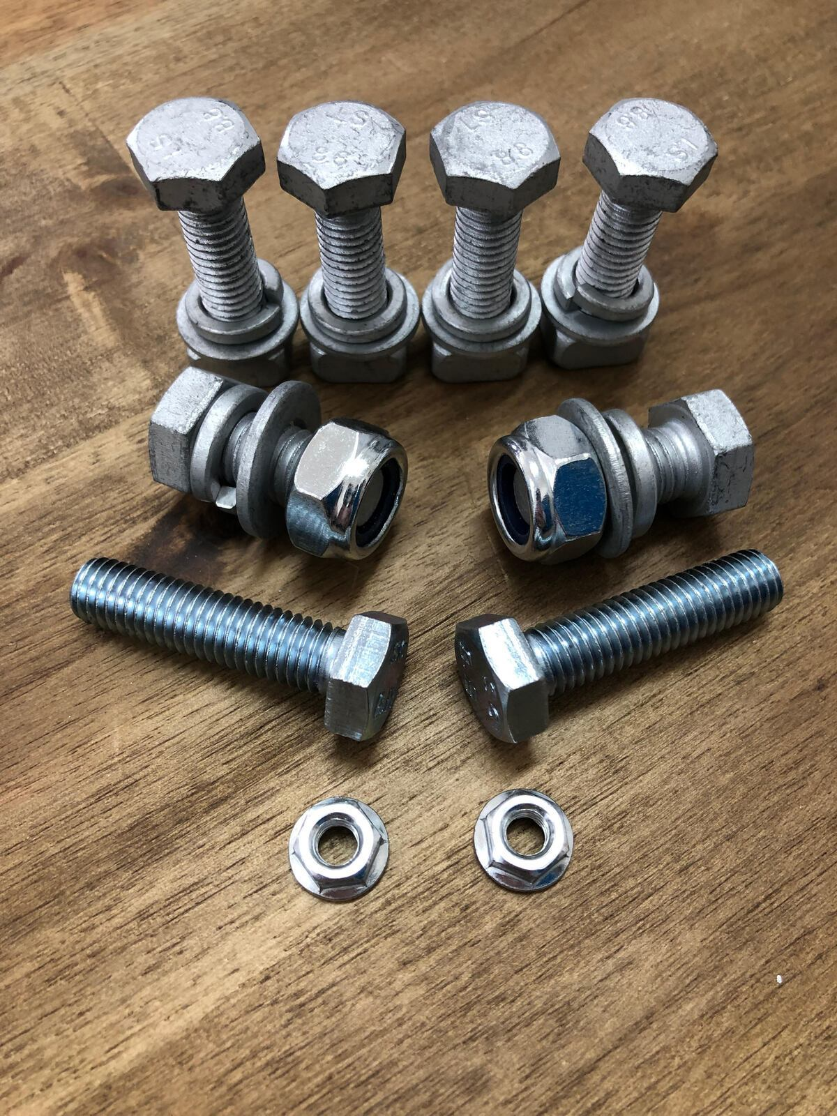 Carbon Winch Mounting Bolt Kit Carbon Winch