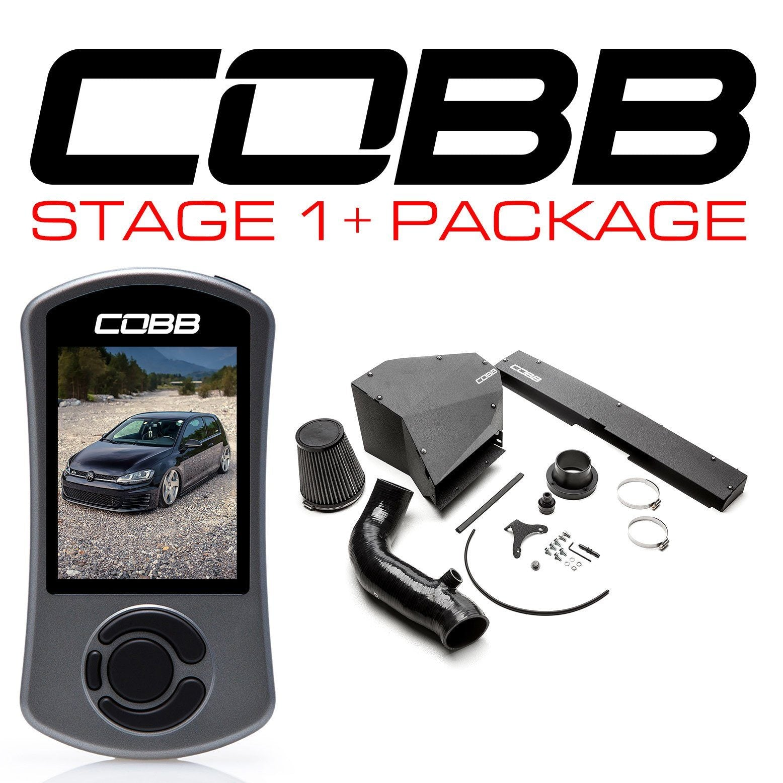 Cobb Tuning Stage 1+ Power Package - Vw Golf Gti Mk7 13-19 (With Dsg Flash) FAF Automotive