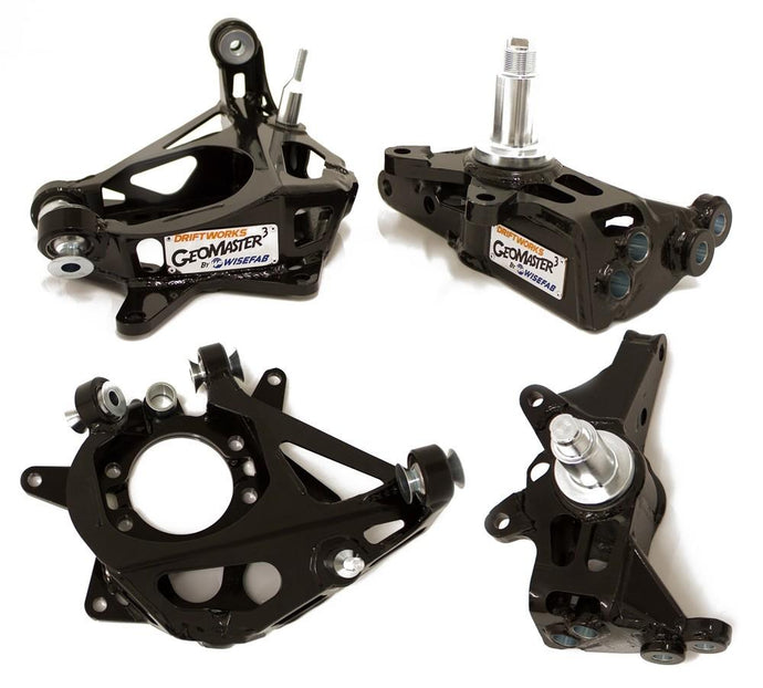 Driftworks/Wisefab Geomaster 3 Hub Drop Knuckles - Front and Rear FAF Automotive