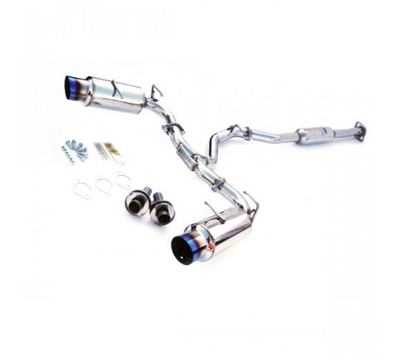 Invidia N1 CAT BACK EXHAUST - TI TIPS (BRZ/86) FAF Automotive