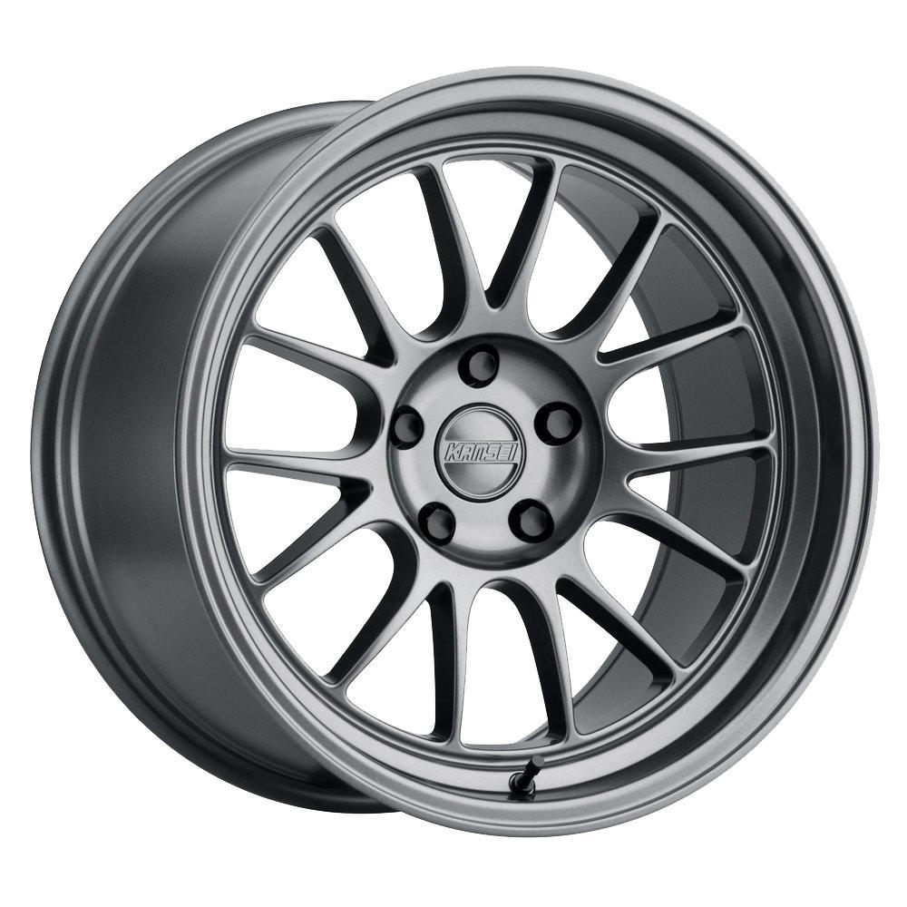 Kansei Corsa | Gloss Gunmetal FAF Automotive 18 x 9 5 x 100 +12