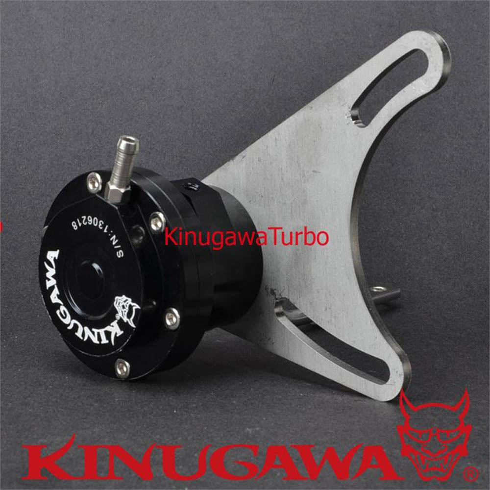 "Kinugawa Turbo Billet Adjustable Wastegate Actuator 3"" Cover 4G63T EVO 1~3 VR-4"