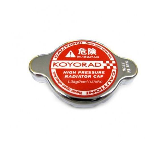 KOYORAD 1.3 BAR HIGH PRESSURE RADIATOR CAP - HYPER RED
