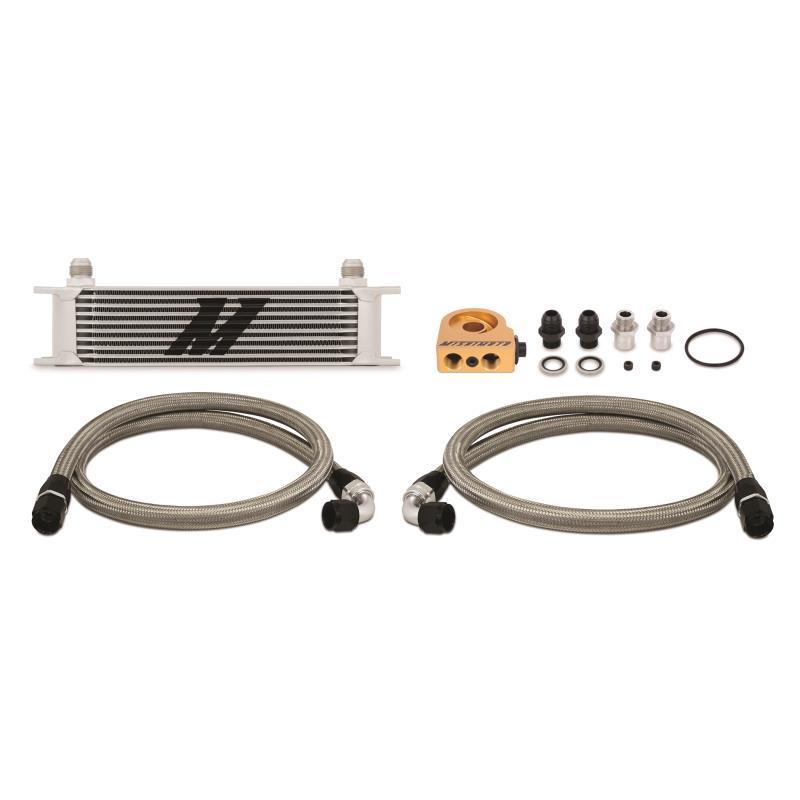 Mishimoto 10-ROW UNIVERSAL OIL COOLER KIT FAF Automotive