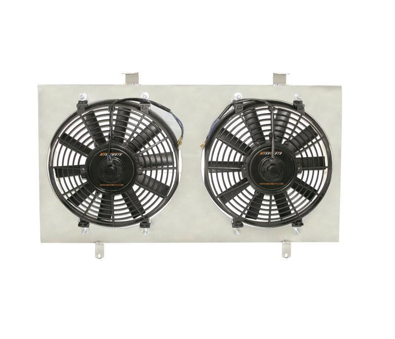 Mishimoto NISSAN 180SX S13 PERFORMANCE ALUMINIUM FAN SHROUD KIT, 1989-1994 SR20 ENGINE FAF Automotive