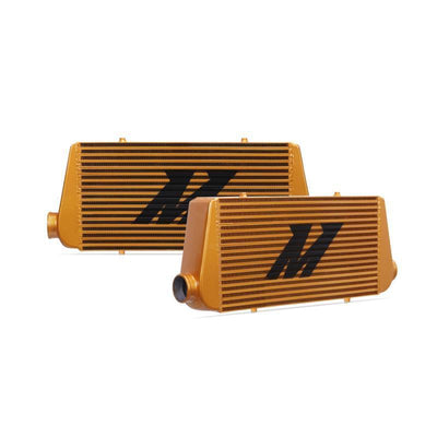 MISHIMOTO UNIVERSAL INTERCOOLER R-LINE FAF Automotive Gold